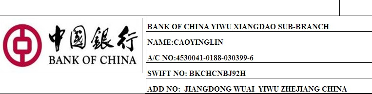Swift code agricultural bank of china zhejiang branch