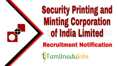 SPMCIL recruitment 2020, Spmcil recruitment notification 2020, latest spmcil recruitment,