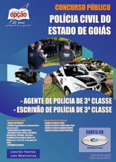 Apostila Concurso Polícia Civil-GO Agente de Polícia PCGO.