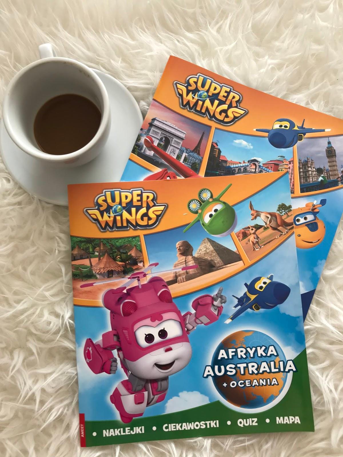 Książeczki Super Wings