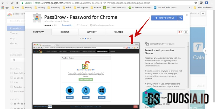 Cara Memberi Password di Google Chrome