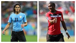 Uruguay vs Trinidad y Tobago en partido amistoso