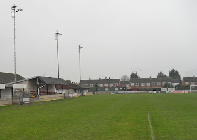 The Hawthorns ground - home of Brigg Town Football Club - picture on Nigel Fisher's Brigg Blog