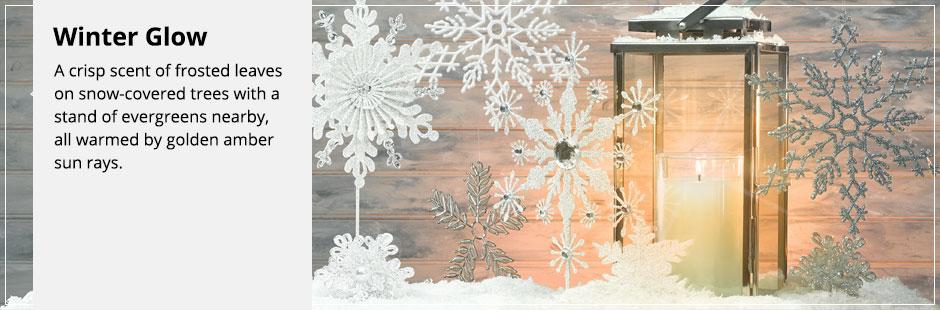 Znalezione obrazy dla zapytania winter glow yankee candle