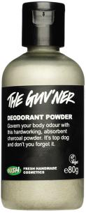 desodorante sin aluminio Lush The Guvner