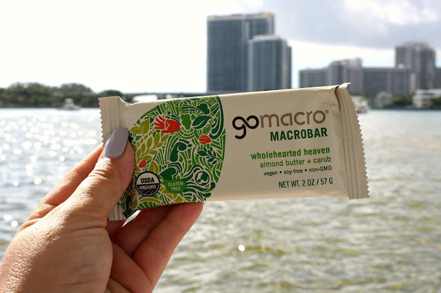 GoMacro WholeHearted Heaven Almond Butter & Carob Macrobar