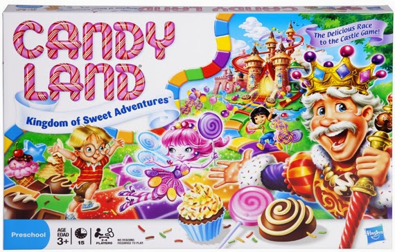 Candy Land - The Kingdom of Sweets board game for preschoolers