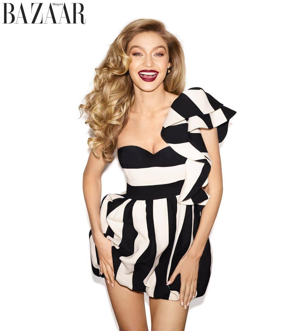 Harper's Bazaar US May 2018 Gigi Hadid by Mariano Vivanco