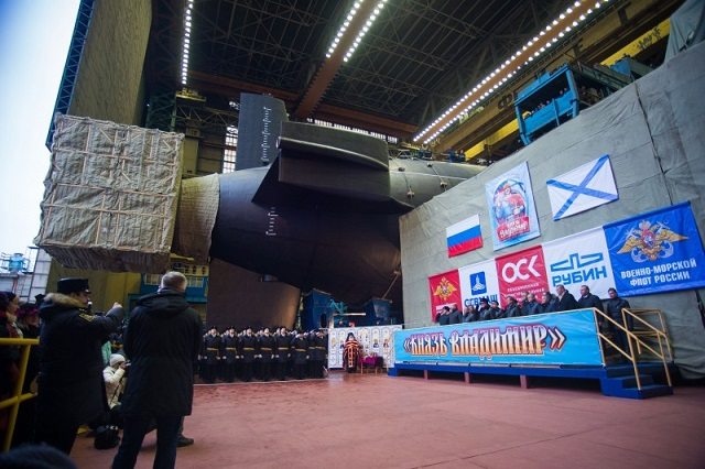 Russia Launched the First Project 955A Borei-A SSBN