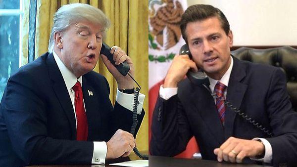 """""""Quiero que seas tan popular que tu gente pida que te reelijas para otros 6 años"""", dijo Trump a Peña"""