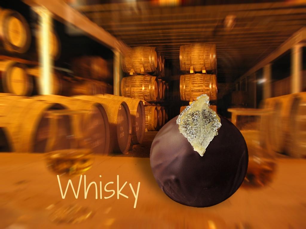 Schokoladenmund Whisky Praline