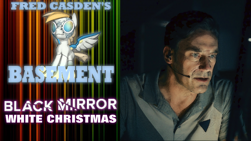 White Christmas Black Mirror Poster.Fred Casden S Basement Black Mirror White Christmas