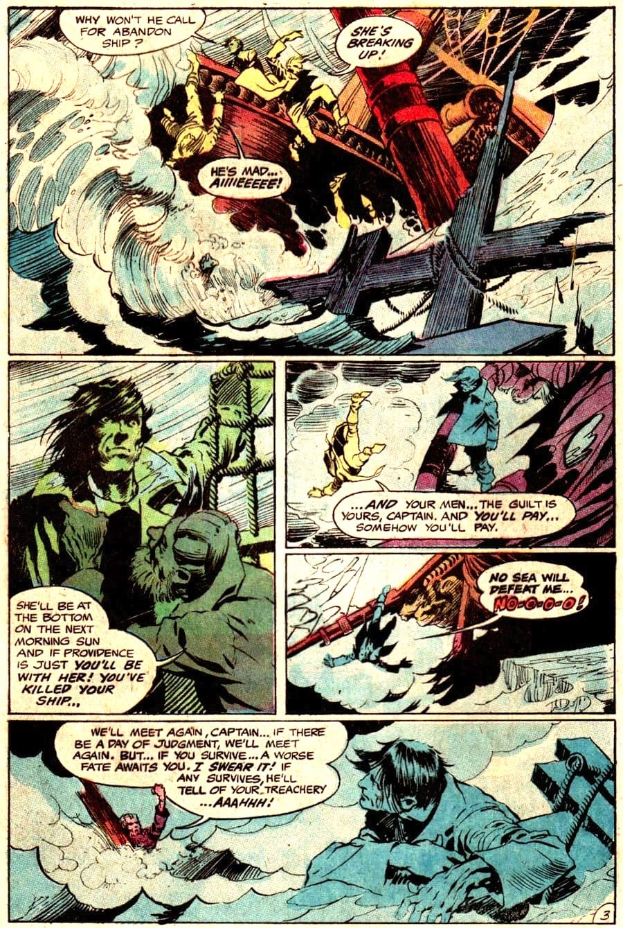 Bernie Wrightson dc horror silver age 1960s comic book page - Witching Hour #5