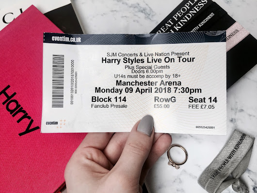 Everything Erin: Harry Styles: Live On Tour | Manchester