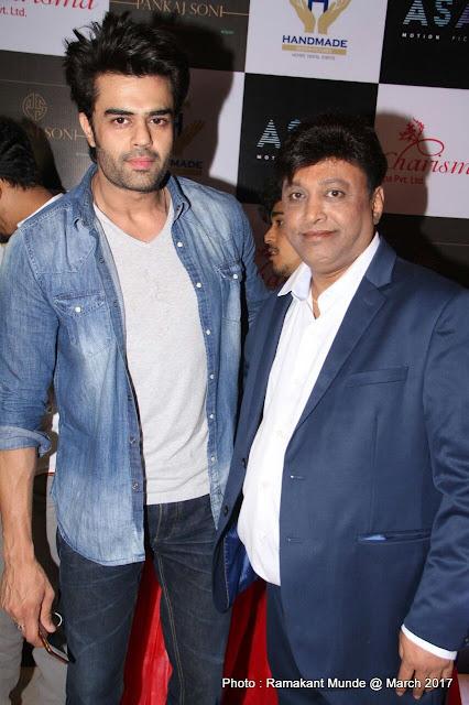 Manish Paul with Manik Soni
