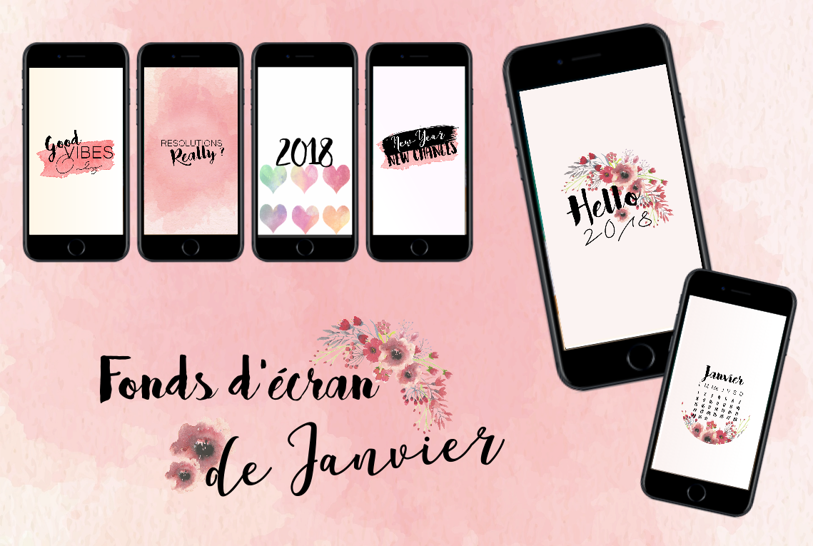 6 fond d cran de t l phone pour janvier pauline dress for Ecran photo 2018