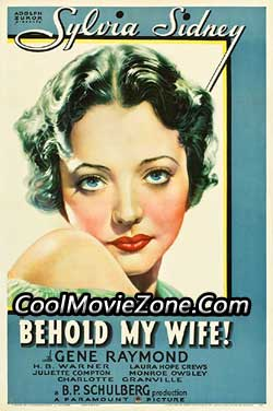 Behold My Wife! (1934)