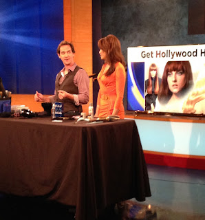 Billy Lowe joins KCAL for more Hollywood Hairstyling Tips