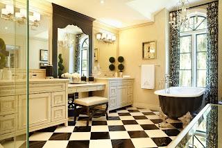 Ванная в стиле ретро: секрет элегантного интерьера