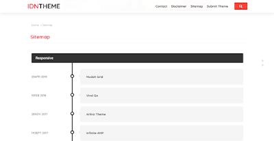 Halaman Sitemap IDNtheme-nyemplung.com