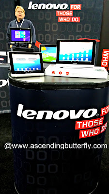lenovo Booth Engadget ExpandNY 2013 Technology Tradeshow