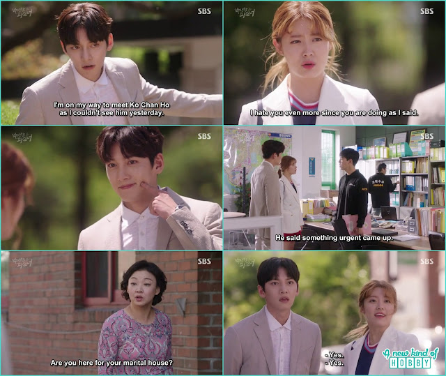 ji wook and bong hee in search of ko chan ho the nis guy - Suspicious Partner: Episode 17 & 18 korean Drama
