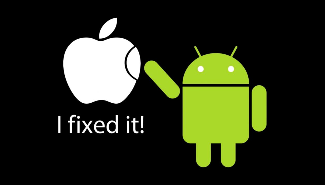 Android Fix Apple Logo Funny Wallpapers Hd Wallpapers Supreme