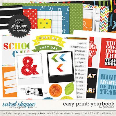 Easy Print: Yearbook