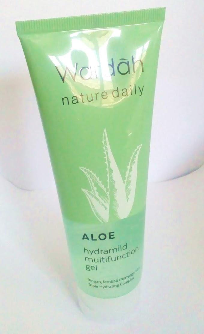 REVIEW: Wardah Aloe hydramild multifunction gel