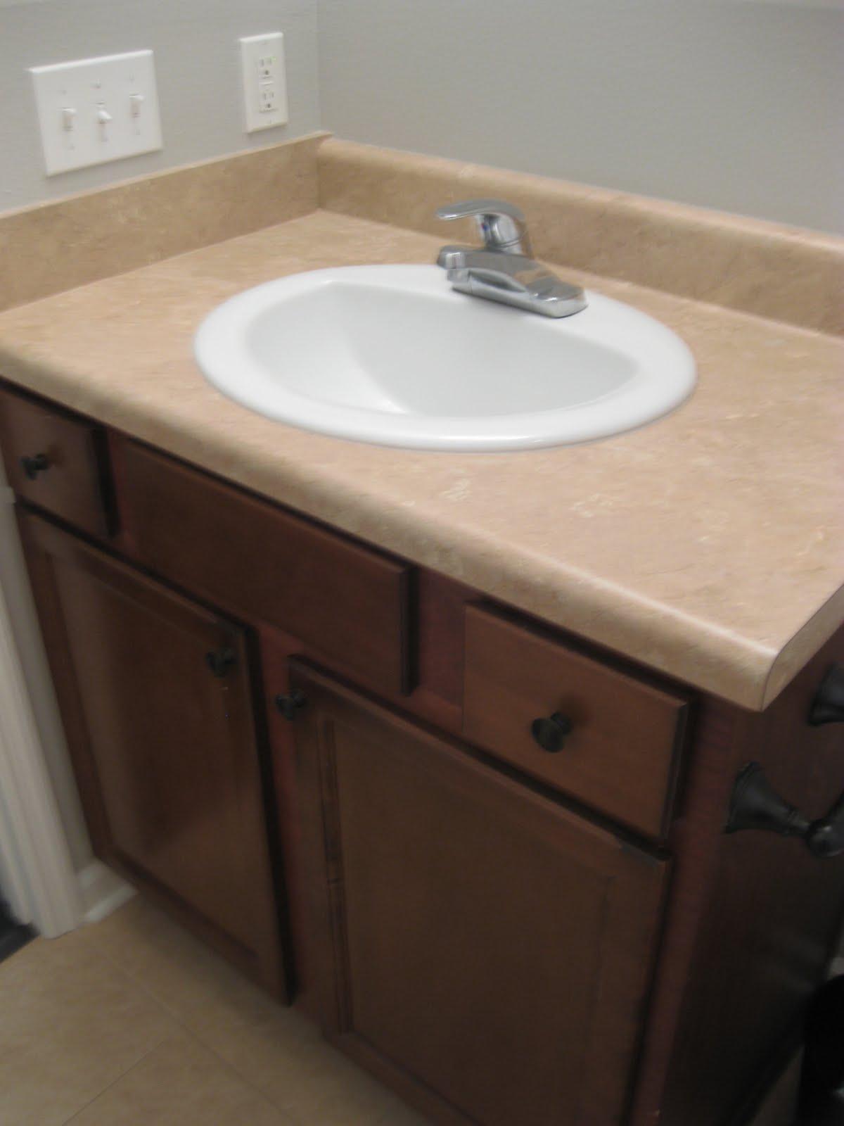 Bathroom countertop paint