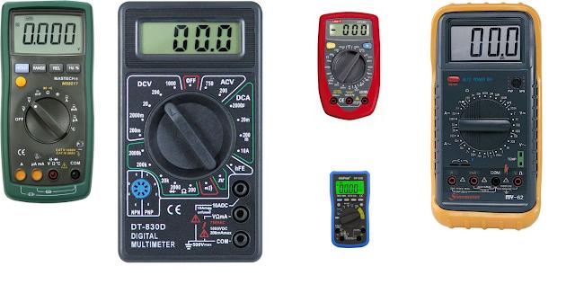 multimetre , ölçü aleti