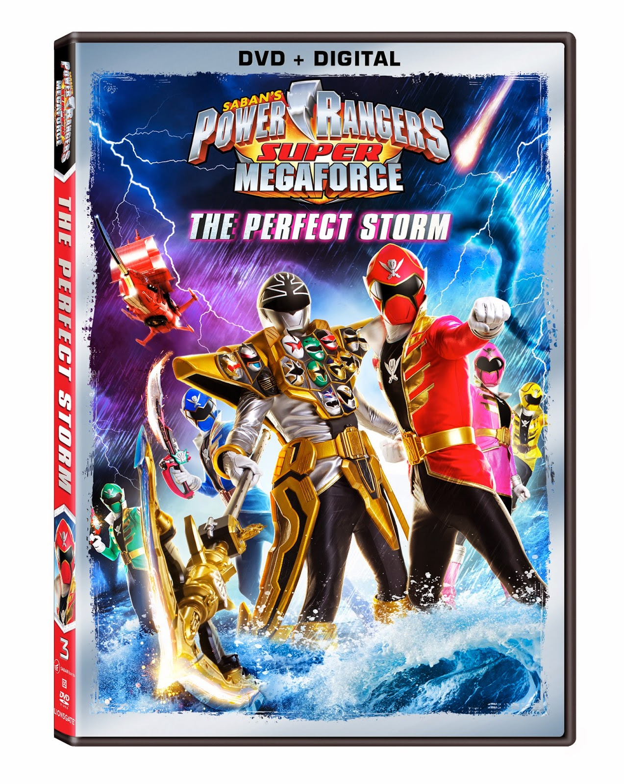 DVD Review - Power Rangers Super Megaforce: The Perfect Storm