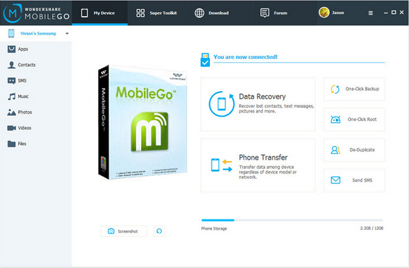 download wondershare mobilego for android free