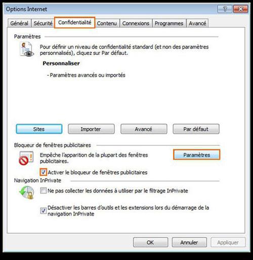 It Maghreb Comment Bloquer Le Pop Up Dans Internet Explorer 8