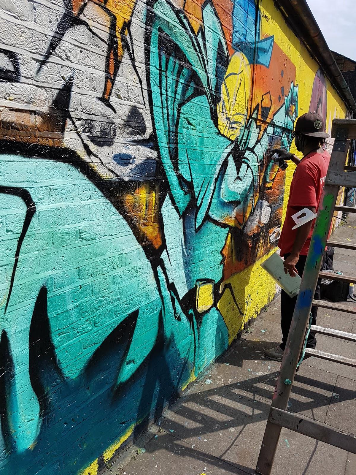 Graffiti Writers Of London Anset2000 Blog