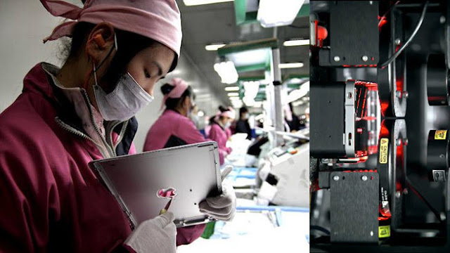 Foxconn_Robot_reemplazan a humanos apple iphone futuro