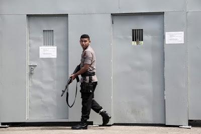 Nusakambangan prison, Indonesia