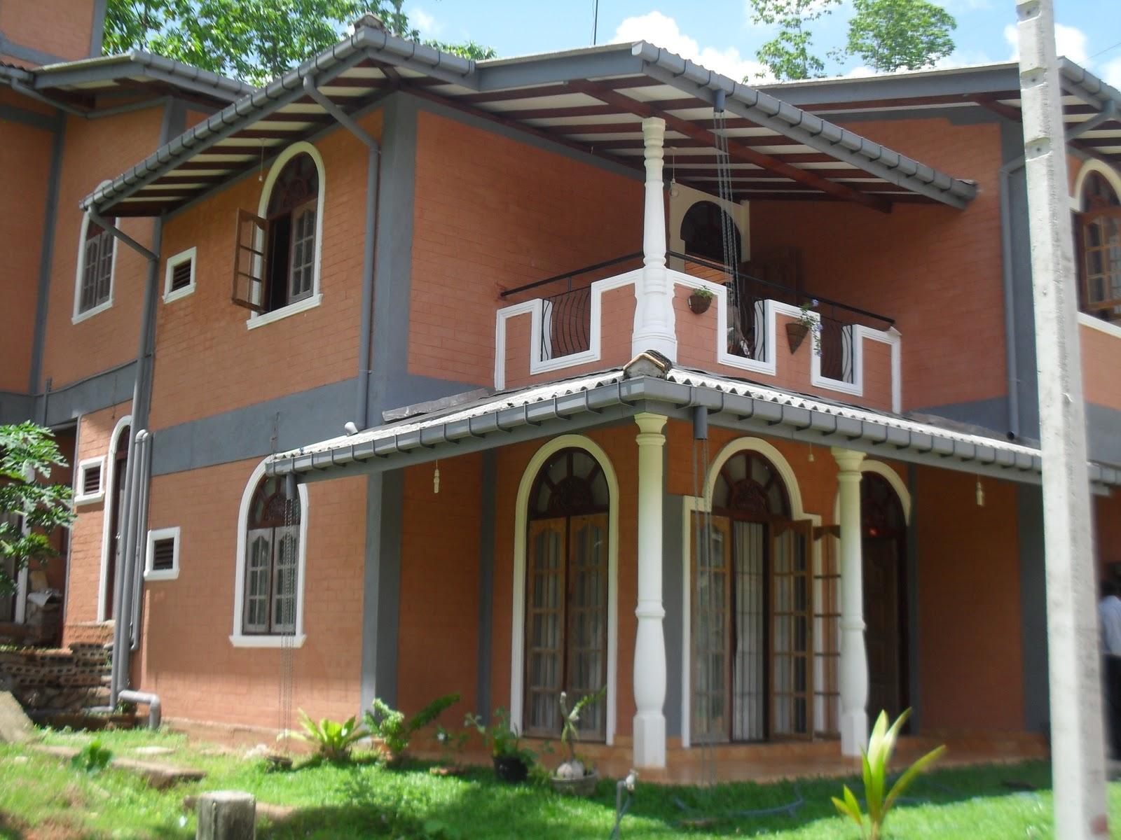 Compressed Earth House : Sri lankan spirit interlocking earth compressed bricks iecb