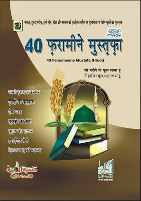 Download: 40 Frameen-e-Mustafa pdf in Hindi