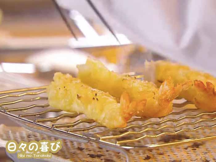 recette drama osen tempura crevette