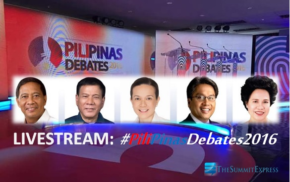 2nd PiliPinas Debates 2016 on TV5 video now up