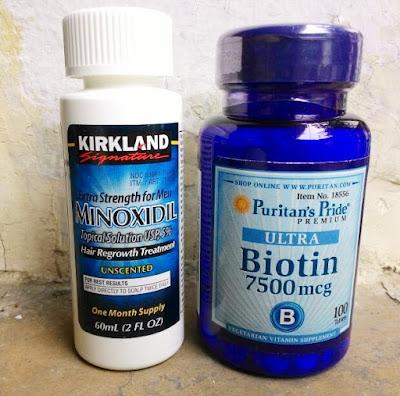 Perpaduan kirklan dan Biotin untuk pria
