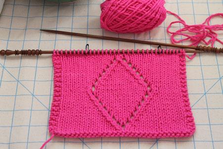 Knitting Outline Stitch : Knitting and Sewing My Way Through Life: Knit Stitch Pattern Saturday
