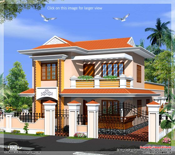 Kerala model villa
