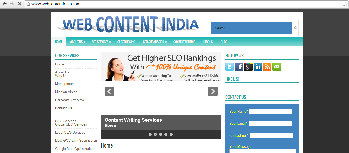 Top Web Design Companies in India For Design & Development Outsourcing