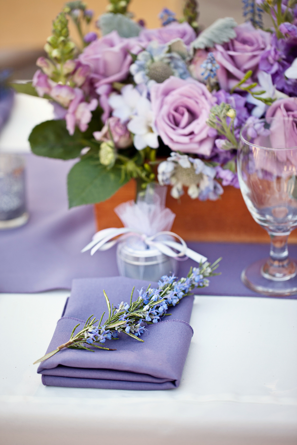 Bride+bridal+vineyard+winery+wine+purple+violet+Lavender+centerpieces+roses+dried+rustic+outdoor+spring+wedding+summer+wedding+fall+wedding+california+napa+valley+sonoma+white+floral+Mirelle+Carmichael+Photography+5 - Lavender Sprigs