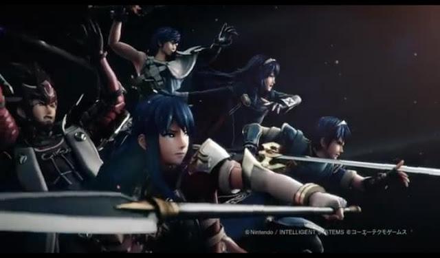 Second Screenshot from Fire Emblem Warriors Opening Movie