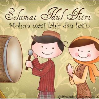 DP BBM Selamat Hari Raya Idul Fitri 1437 H terbaru paling cocok