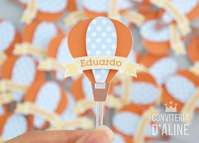 festa aniversario balao baloes tag docinho
