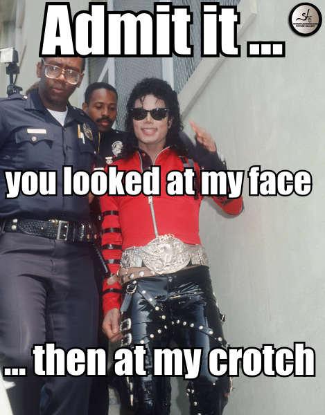 Michael Jackson Crotch Meme